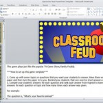 family feud powerpoint game template best teacher resources blog. Black Bedroom Furniture Sets. Home Design Ideas