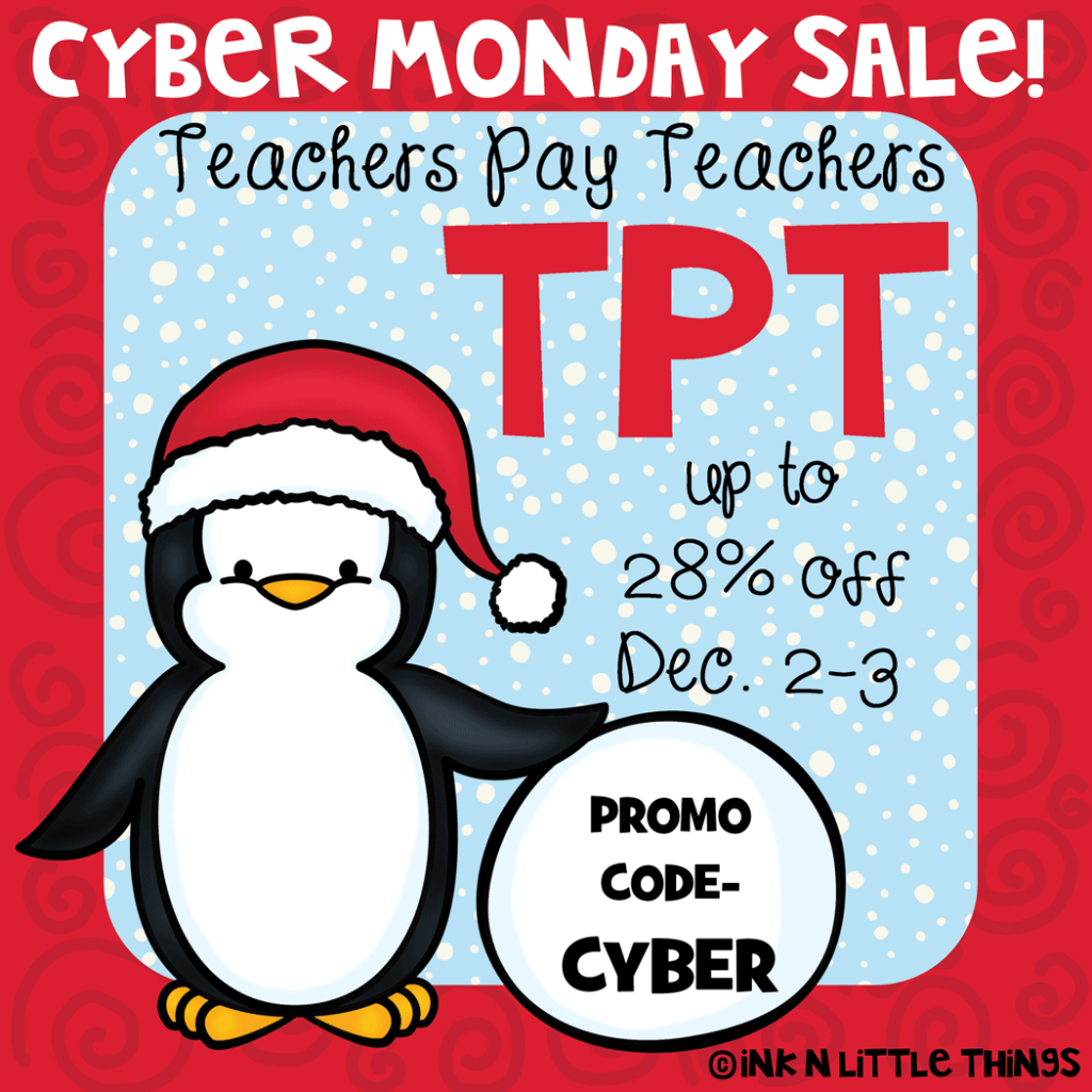 Teacher Cyber Monday Sale 2013