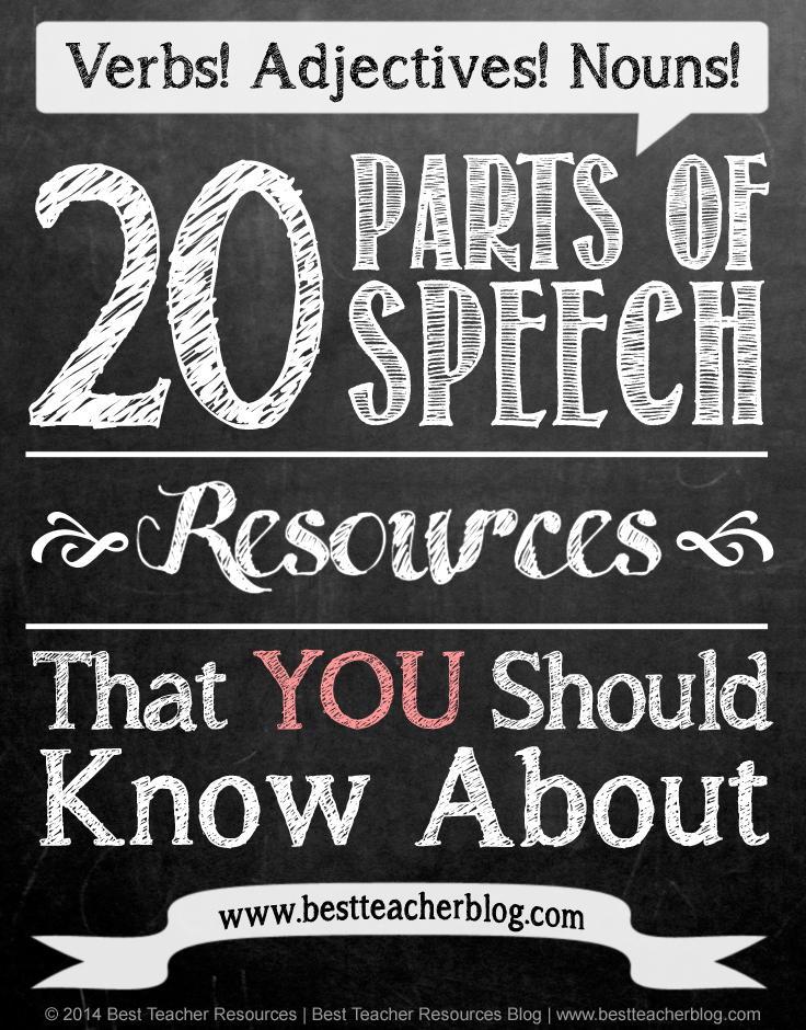 Parts of Speech Resources