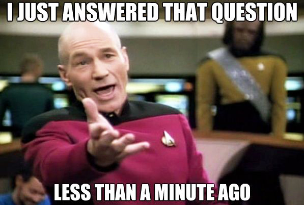 Teacher Meme - Answer Questions