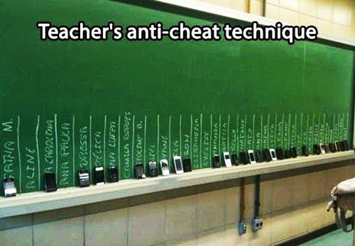 Teacher Meme - Anti-Cheating Technique