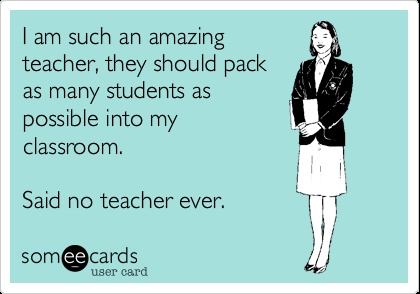 Teacher eCard - Class Size