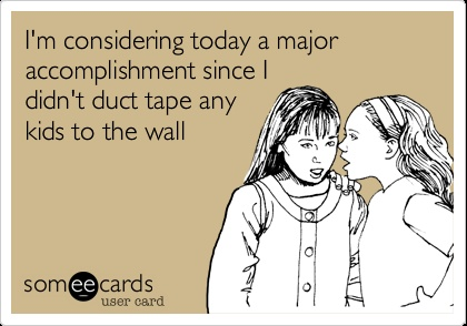 Teacher eCard - Duct Tape Discipline