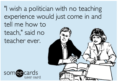 Teacher eCard - Politicians